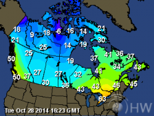 Current Temperature Map