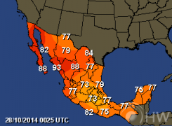 Mexico Weather Forecasts