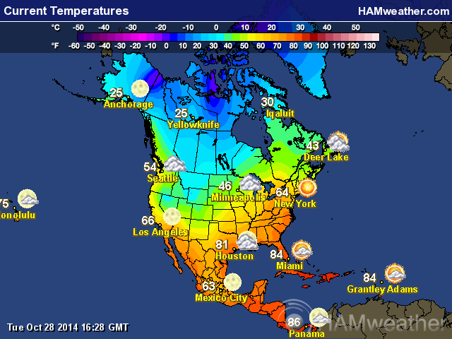 North American Weather Maps